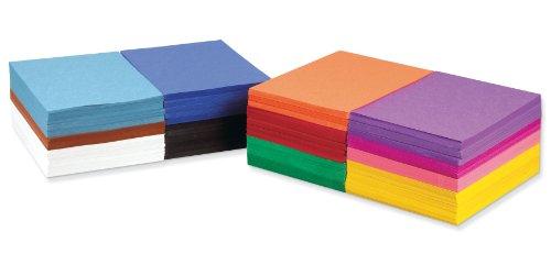 SunWorks Construction Paper Sampler, 12 Assorted Colors,  9