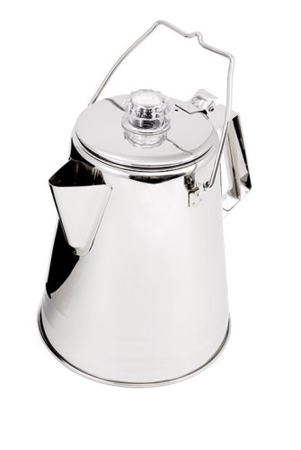 GSI Outdoors Glacier Stainless 14-Cup Percolater
