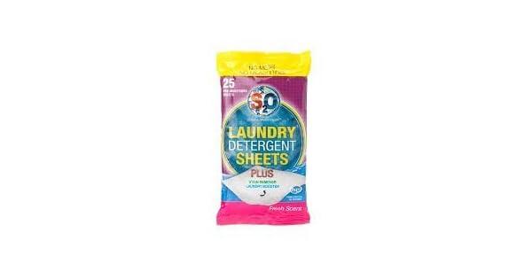Amazon.com: s2o detergente de lavandería Quitamanchas Hojas ...
