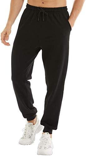 yuyangdpb Men's Athletic Joggers Pants Running Pants Cotton Sweatpants with Pockets 1