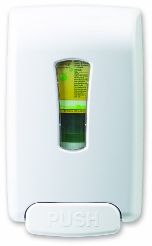 Best Sanitizers MD10030 VersaClenz Manual Hand Hygiene Dispenser, White