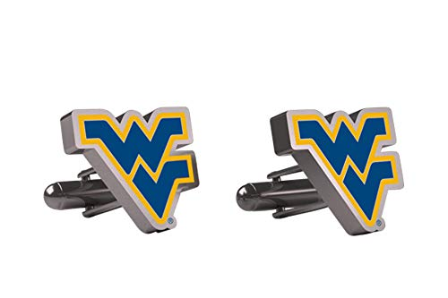 AdSpec NCAA West Virginia Mountaineers Mens Cufflinks ()