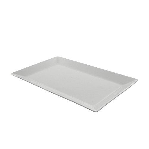 """UPC 017794839136, 10 Strawberry Street WEL-13REC2 Whittier Elite Rectangle Platter, Set of 6, 13"""", White"""