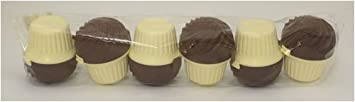 Range Kleen STG32BC Cupcase Bulk Chocolate/Yellow Set of 6