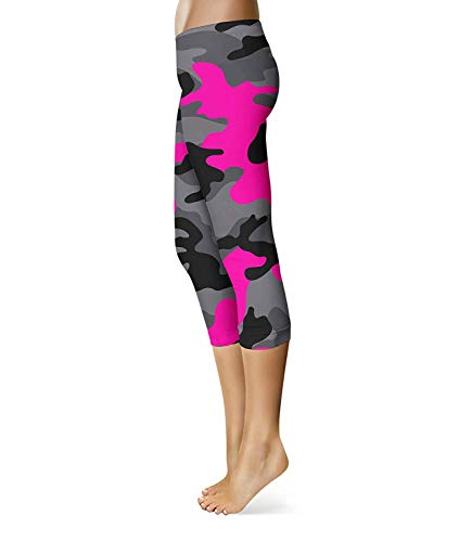 Hot Pantaloni Jogging Ragazzi Pink Yoga Donna Skinny Classiche Stretch Workout Corsa Da Sport Camouflage Fashion Leggings Fitness gZw71O