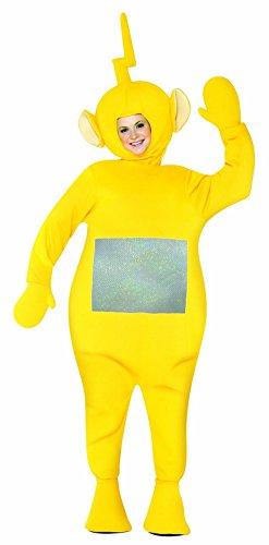 Rasta Imposta Teletubbies Adult Laa-Laa Costume, Yellow, One