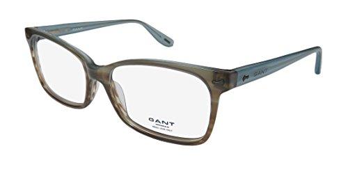 Gant Kane Womens/Ladies Designer Full-rim Flexible Hinges Eyeglasses/Glasses (52-15-135, Brown / Dirty - Europe Eyeglasses