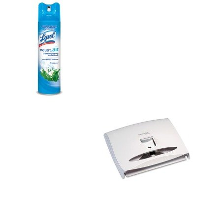 KITKIM09505RAC76938EA - Value Kit - Kimberly Clark 09505 WINDOWS Series-i Personal Seats Toilet Seat Cover Dispenser (KIM09505) and Neutra Air Fresh Scent (RAC76938EA)