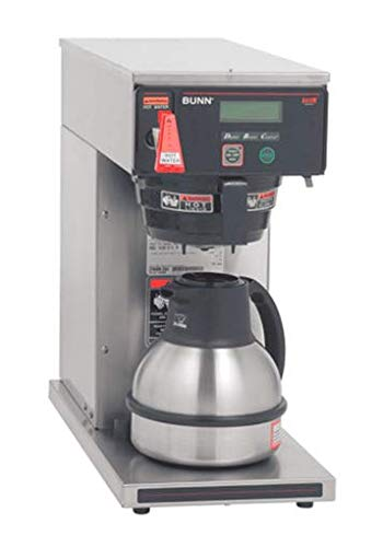 Bunn 38700.0011 Axiom-DV-TC Dual Voltage Commercial Thermal Coffee Brewer, Black/Stainless (120V Standard)
