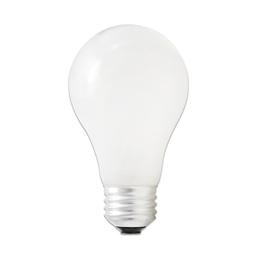 Energy Efficient Finish - Bulbrite 115170 - 72 Watt Halogen Light Bulb (**2 PACK**), A19 Shape (Standard Light Bulb), Energy Efficient 100 Watt Incandescent Equivalent, Soft White