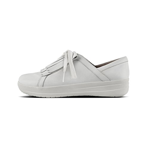 Mujer 194 Color de White L Up SNE Sporty Urban Blanco F Lace Fitflop II Frin Blanco Deportivas EN qv7UT