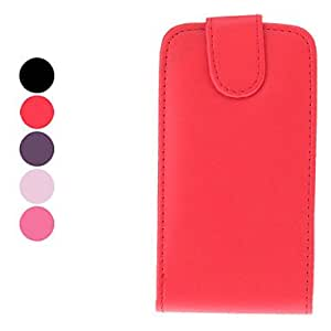 TOPQQ Protective PU Leather Case for Samsung Galaxy I9000 (Assorted Colors) , Rose