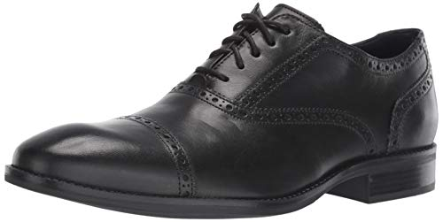 Cole Haan Men's Wayne Cap Toe Oxford, Black, 12 M US