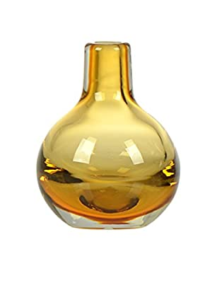CASAMOTION Hand Blown Art Glass Bud Vase, Gift Boxed
