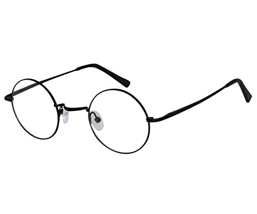EyeBuyExpress Bifocal Reading Glasses Mens Womens Black Round Harry Potter Style Anti - Potter Spectacles Frames Harry