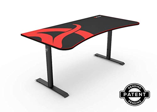 Arozzi Arena Gaming Desk - Rectangle Top - 62.99 Table Top W