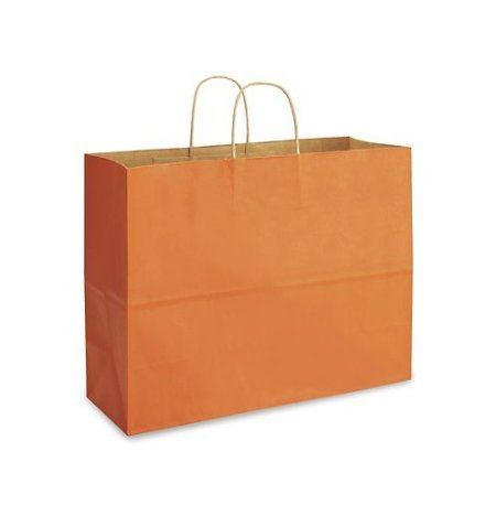 Orange Bags, Extra Large Kraft Paper Gift Wrap