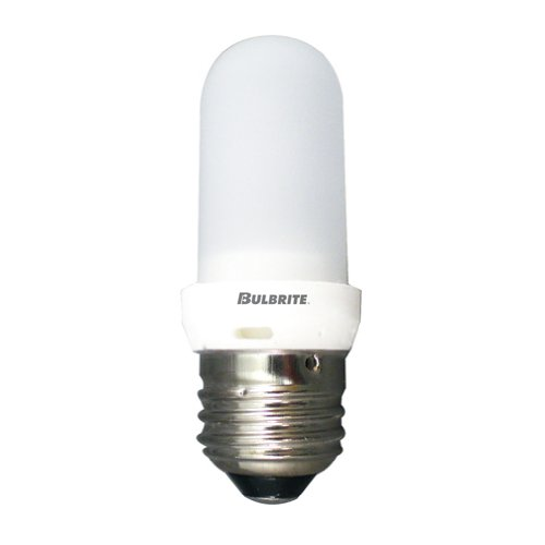 - Bulbrite Q75FR/EDT 120-Volt Halogen JDD Type Tubular Medium E26 Bulb, Frosted, 75-Watt