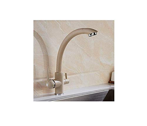 Water Taptaps Faucet Kitchen Sink Sink Water Purifier Kitchen Faucet Double Outlet Sink Hot and Cold Faucet