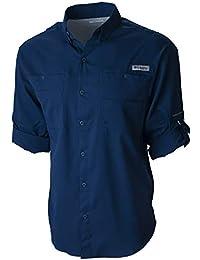 Men's PFG Tamiami II Long Sleeve Shirt, UPF 40 Sun Protection, Wicking Fabric