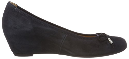 Gabor Damen Basic Pumps Blau (Pazifik)