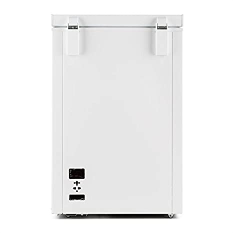 Klarstein Iceblokk congelador horizontal (100 litros capacidad, 75 ...