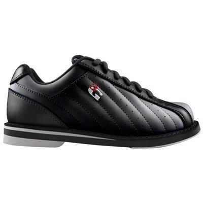 3G Mens Kicks Bowling Shoes (10 1/2 M US, Black) by 900 Global