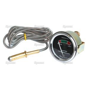 Massey Ferguson Tractor Water Temperature Gauge W/ Cable 881396M91 174-1