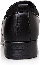 Sunny&Baby Zapatos de Vestir del Smoking de los Hombres Mate de Cuero de la PU Empalme Superior Slip-on Transpirable Forrado Negocios Oxfords Casual Loafer