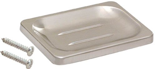 EZ-FLO 16202 Soap Dish with Exposed Screw, Brushed Nickel