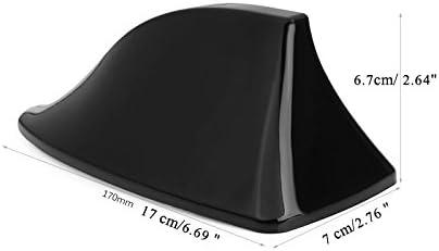 Gris Folconauto Aileron de Requin Universal Auto Roof,Fonction de Signal Radio par antenne