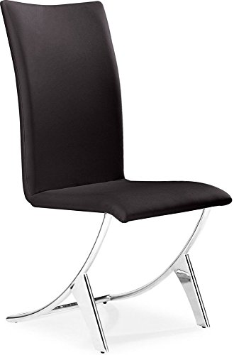 Zuo Modern 102103 Delfin Dining Chair, (Set of (Delfin Dining Chair)