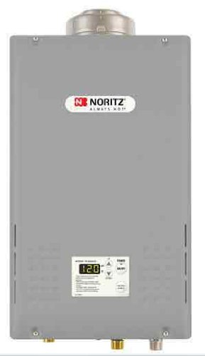 Noritz NC199DVCLP Indoor Concentric Vent Tankless Water Heater, max. 199,900 Btuh, 9.8 GPM - Liquid Propane