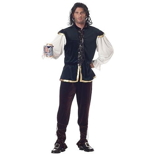 Mens renaissance costume amazon california costumes mens tavern man costume greenbrown medium solutioingenieria Choice Image