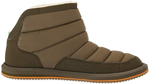 Ankle M Puff Sanuk Women's Boot 10 Dark N Olive Us Chill RcIZqcgw