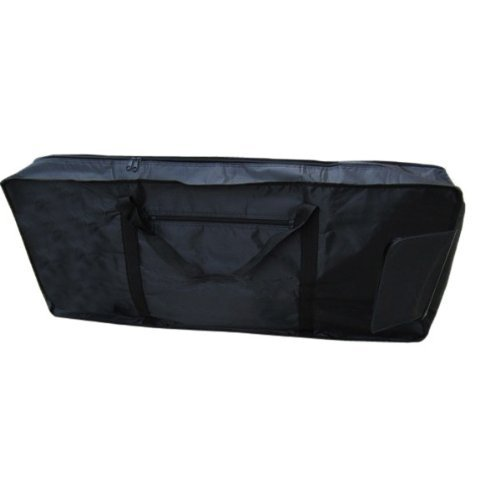 Water & Wood New 61 Key Electronic Music Keyboard Bag Case Protable Black