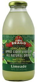 Bragg Apple Cider Vinegar Limeade 16 Oz - (Pack of 12) - Lime Cider