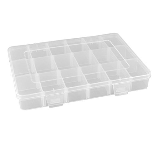 vndeful-18-grid-clear-adjustable-components-earrings-jewelry-organizer-storage-box