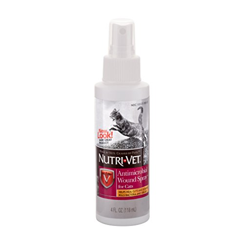 Nutri-Vet Antimicrobial Wound Spray, 4 oz