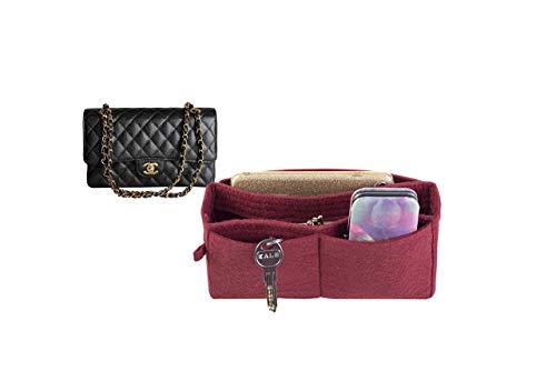 For Chanel 2.55 Handbag bag insert organizer