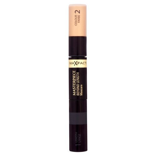 Price comparison product image Max Factor Masterpiece Beyond Length Mascara - # 125 Tanned Black - 2x5.3ml/0.176oz by Max Factor