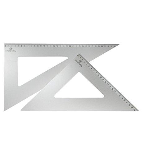 b61150616f Arda Alluminio Squadra cm. 25/60: Amazon.it: Giochi e giocattoli