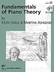 Fundamentals of Piano Theory Teacher's Answer Book: Level Three