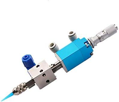 NEWTRY グルーガンノズル グルーガンバルブ エジェクター式ディスペンスヘッド 空気圧グルーガン UV接着剤/インク/アルコール/ポリビニルなどに適用 DIY工具 木工用