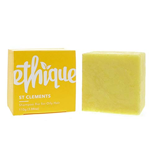 Ethique Eco-Friendly Solid Shampoo Bar for Oily Hair, St Clements 3.88 oz