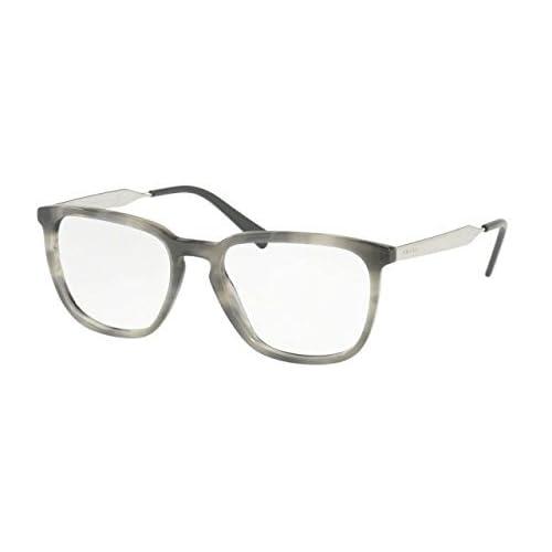 c648dfb477 Prada 0PR 07UV, Monturas de Gafas para Hombre, Striped Black, 55 Outlet