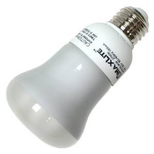 MaxLite SKR211FLWW CFL Light Bulb, 11W (30W Equivalent) E26 R20 2700K - 300 (11w R20 Compact)