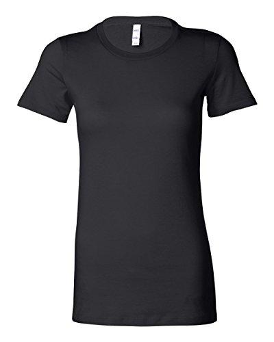 Bella Ladies Super Soft Favorite T-Shirt, Black, Medium