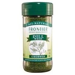 Frontier Herb Organic Cut and Sifted Dill Weed, 16 Ounce - 3 per case