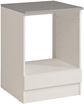 PEGANE - Mueble bajo de Cocina para Horno de MDF (60 x 60 x 86 cm ...